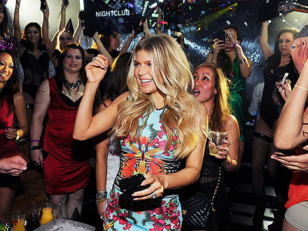 Fergie Turns 37, Josh Duhamel Picks Out Black Diamonds