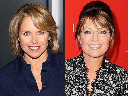 Katie Couric Good Morning America, Sarah Palin Today