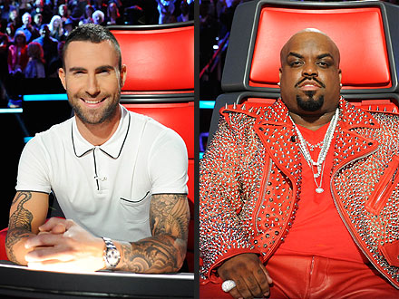 "The Voice: Team Adam and Team Cee Lo Perform Before ""Instant Elimination"""