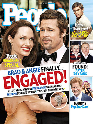 Brad & Angelina's Engagement - All the Details