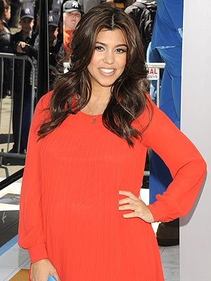 Kourtney Kardashian Pregnant; Expecting a Girl in July