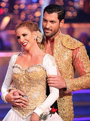 Dancing with the Stars: Melissa Gilbert Is in Pain, Maksim Chmerkovskiy Says