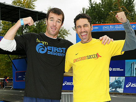 Ryan Sutter Running the Boston Marathon for Ethan Zohn