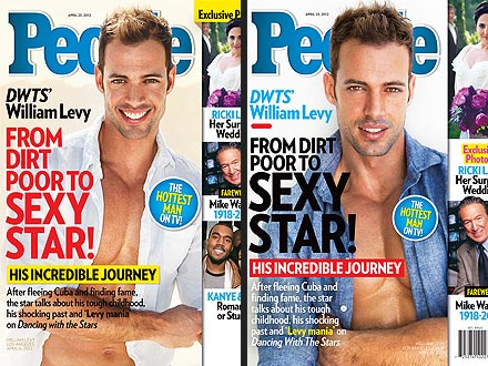William Levy's PEOPLE Covers: Which Do You Prefer?