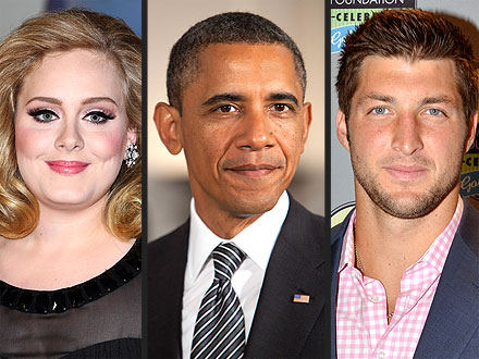 Tim Tebow, Adele, Barack Obama Among Time 100
