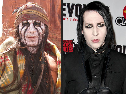 Johnny Depp: Did Marilyn Manson Inspire Tonto Look?
