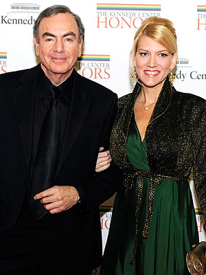 Neil Diamond with hot, beautiful, sexy, Wife Katie McNeil