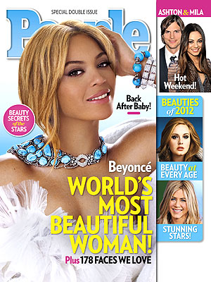 Beyonce Knowles Is PEOPLE Magazine World&#39;s Most Beautiful