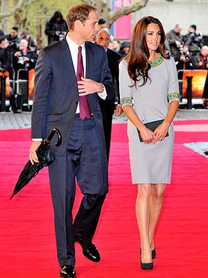 Kate Middleton and Prince William Walk Red Carpet at African Cats Premiere