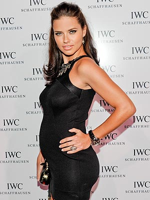 Pregnant adriana lima is craving beer but not drinking it
