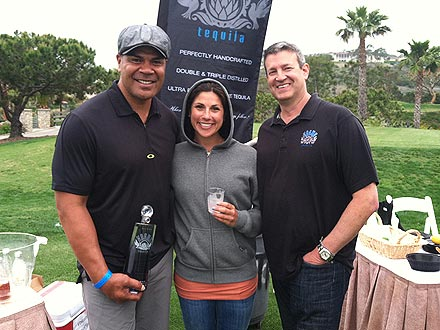 Junior Seau Smiling at Charity Event Days Before Death