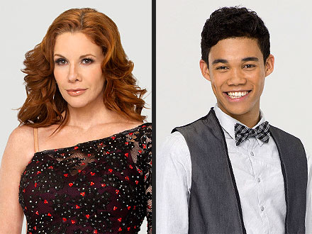 Dancing with the Stars Elimination -  Melissa Gilbert, Roshon Fegan