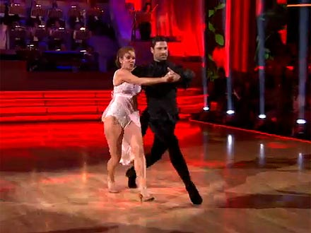 Dancing with the Stars: Maksim Chmerkovskiy & Melissa Gilbert Land in Last Place