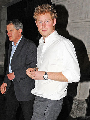Prince Harry Steps Out Solo on William&#39;s Anniversary Weekend