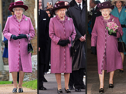The Queen Recycles Her Wardrobe – Just Like Kate