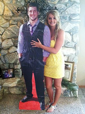Tim Tebow Cardboard Cutout: Prom Date