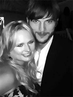 Kentucky Derby Pre-Party Ashton Kutcher, Miranda Lambert