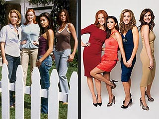 The Desperate Housewives Stars, Then and Now | Desperate Housewives, Eva Longoria, Felicity Huffman, Marcia Cross, Teri Hatcher