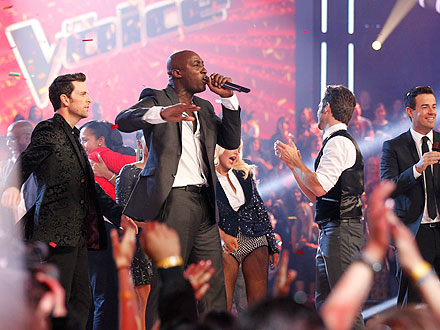 The Voice: Jermaine Paul 'Shocked' over Win
