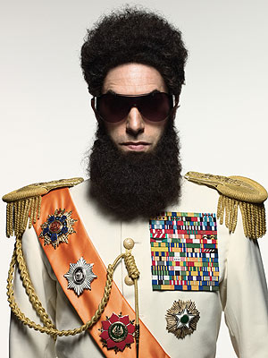 The Dictator, Sacha Baron Cohen: Review