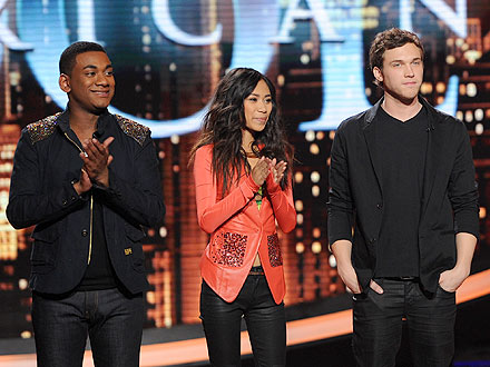 American Idol: Jessica Sanchez, Joshua Ledet, Phillip Phillips Face Elimination