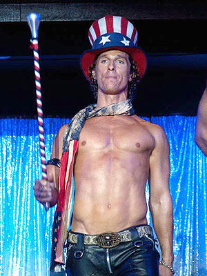 Matthew McConaughey Didn't Use a 'Stunt A––' in Magic Mike