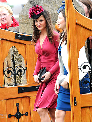 Pippa Middleton in Issa Dress Like Kate Once Wore: Pictures