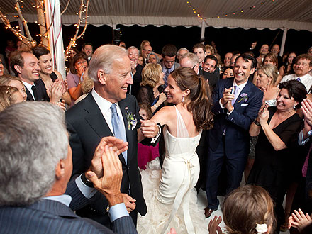 Joe Biden's Daughter Ashley Wedding Pictures