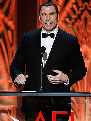 John Travolta First Public Appearance Since Alleged Scandal