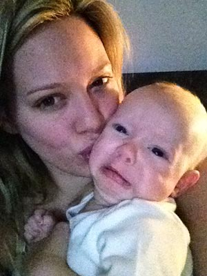 Hillary Duff Baby Picture of Son Luca