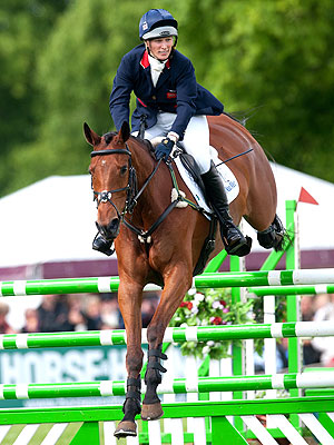 Olympics 2012 London: Zara Phillips on Equestrian Team
