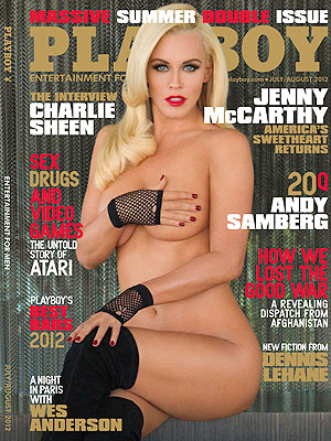 Jenny McCarthy Playboy: Photo of Cover -- Jenny McCarthy Naked Picture