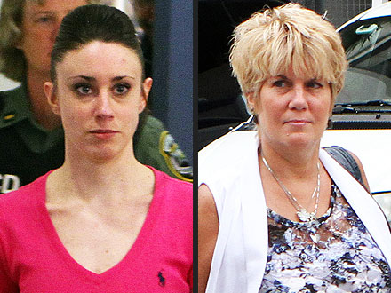 Casey Anthony and Her Mother Wear Caylee's Ashes Around their Necks