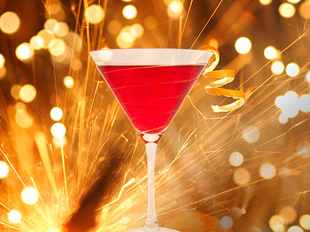 July 4th Weekend Sparkling Cosmo Drink Recipe