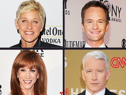 Anderson Cooper - Stars Congratulate Him on Coming Out