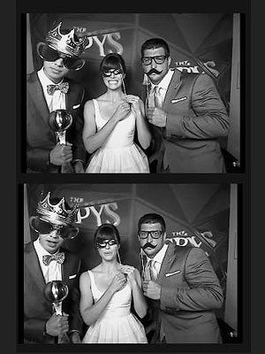 ESPYS Pictures: Jessica Biel, Jeremy Lin, Tim Tebow Goof Off in Photo Booth
