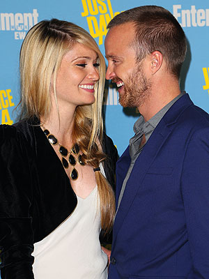 Breaking Bad Star Aaron Paul Madly in Love with Fianc&#233;e