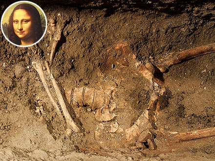 Mona Lisa Bones Possibly Found Under Italian Church