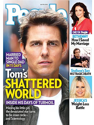 Tom Cruise, Katie Holmes Divorce: His Private Pain