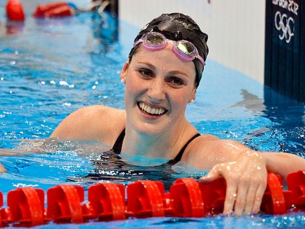 London 2012: Missy Franklin 200M Backstroke Results