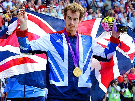 Andy Murray Defeats Roger Federer to Win Olympic Gold