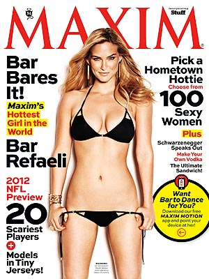 Bar Refaeli on Maxim, Talks Dating