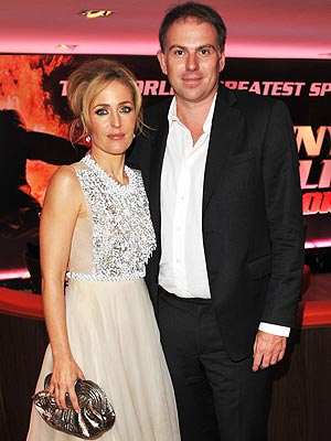 Gillian Anderson and Mark Griffiths Split