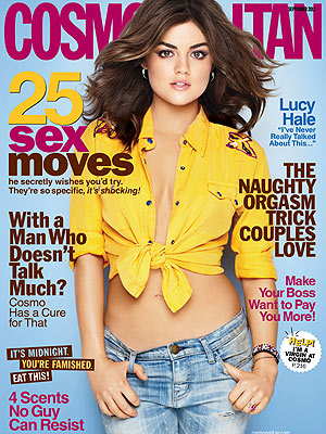 Lucy Hale, Pretty Little Liars, Food Struggle in Cosmopolitan