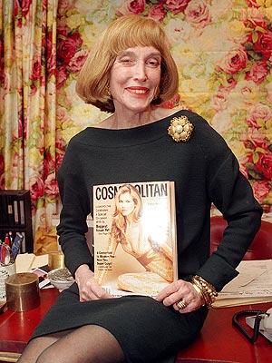 Helen Gurley Brown Dies; Cosmopolitan Editor Dead at 90