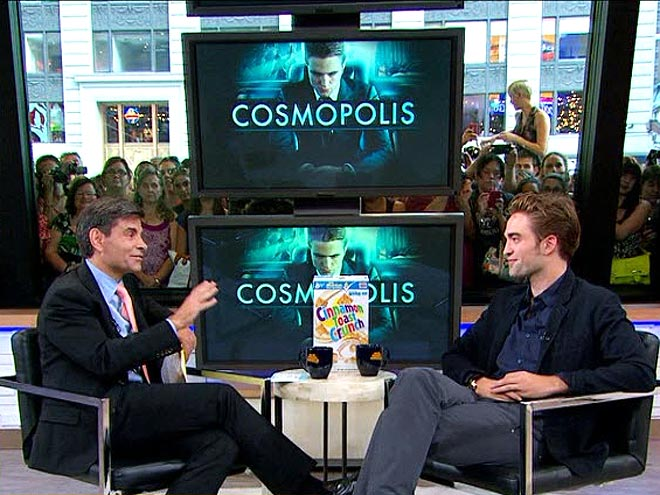 Robert Pattinson on Good Morning America 'Not Interested' in Personal Questions