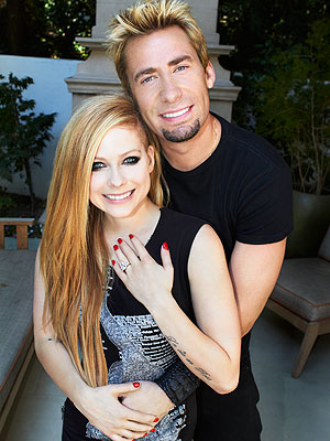 Avril Lavigne, Chad Kroeger Show Off Engagement Ring