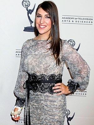 Mayim Bialik Makes First Red Carpet Appearance After Car Accident