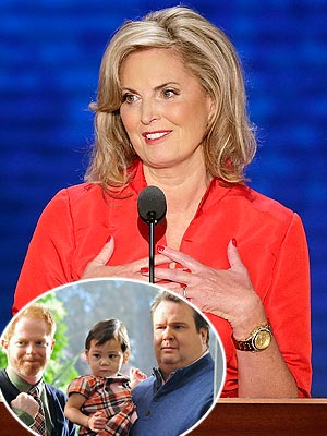 Ann Romney Likes Modern Family - Mitt Romney's Wife on Her Favorite TV Show