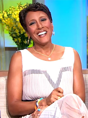Robin Roberts, Good Morning America Anchor, Home from Hospital